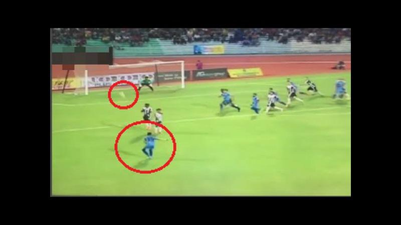 Mohd Faiz Subri free kick, Wonderful moment in football history