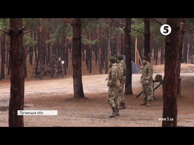 14 ЛИСТОПАДА 2016 р. Луганщина артилеристи відпрацьовують миттєве розгортання і влучність