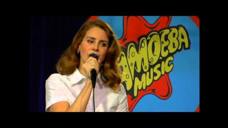 Lana Del Rey Without You Live at Amoeba