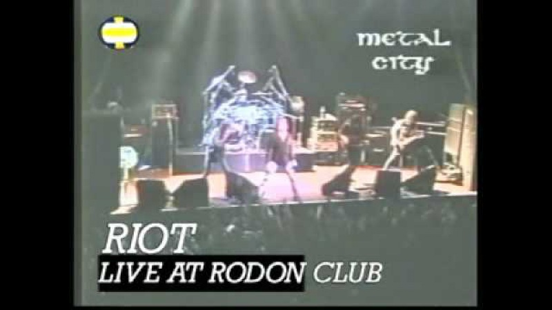 Riot Live at Rodon Club 24 5 1998