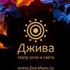 Театр ДЖИВА пиксельное танцевальное огненное шоу