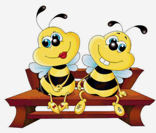 Семья пчелок картинки