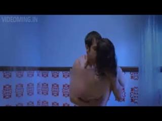 Sunny leone hot kissing scene in bathroom   ragini mms 2