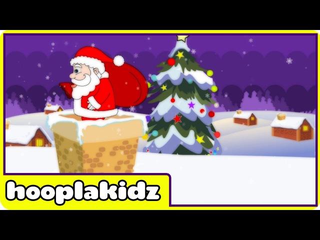 Up On The Housetop Song HooplaKidz Nursery Rhymes Kids Songs