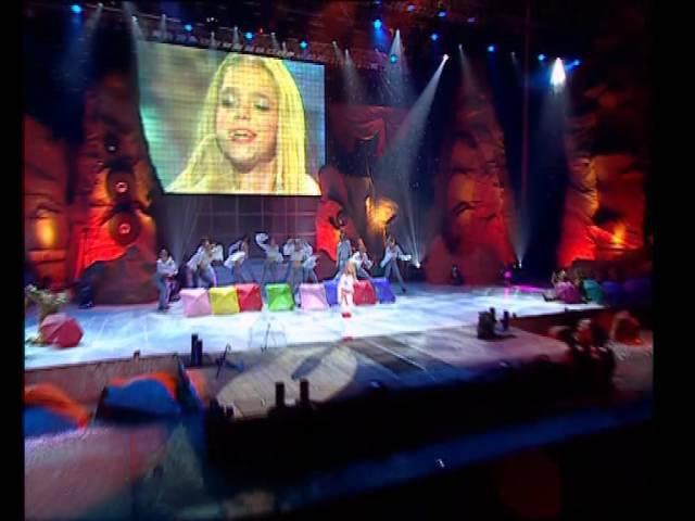Ассоль Танец под дождем Шоу Звезда Ассоль 2003