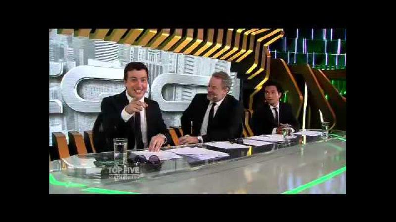 CQC 25/05/2015 Top Five Silvio Santos faz pergunta indiscreta para travesti