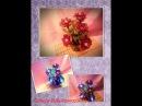 Цветок из бисера светильник Урок №1
