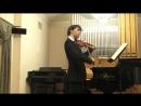 БИС Шуберт Сонатина op 137 №2 финал Даниил Коган скрипка Анна Тамаркина фортепиано