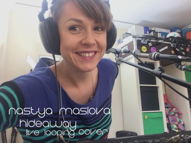 Kiesza - Hideaway (Live looping cover by Nastya Maslova)