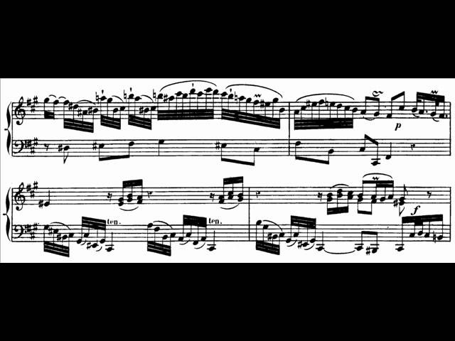 Hamelin plays C.P.E. Bach - Sonata in A, W.55 No. 4 Audio Sheet music