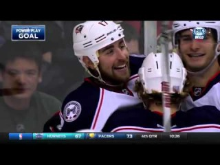 Blue Jackets at Wild Game Highlights 10/22/15