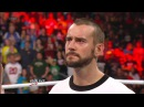 The Rock interrupts CM Punk and vows to become WWE Champion Raw Jan 7 2013