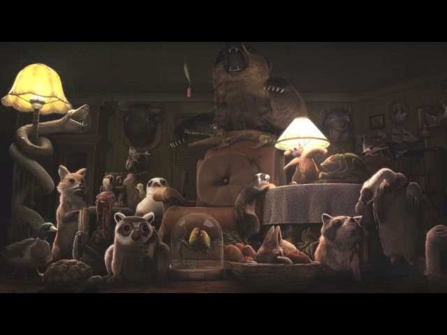 CGI 3D Animated Short The Taxidermist by Team Le Taxidermist