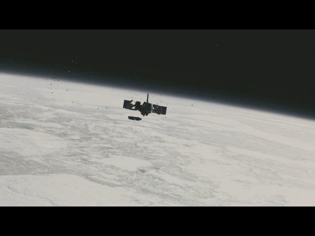 Interstellar Docking Scene 1080p 60 FPS IMAX