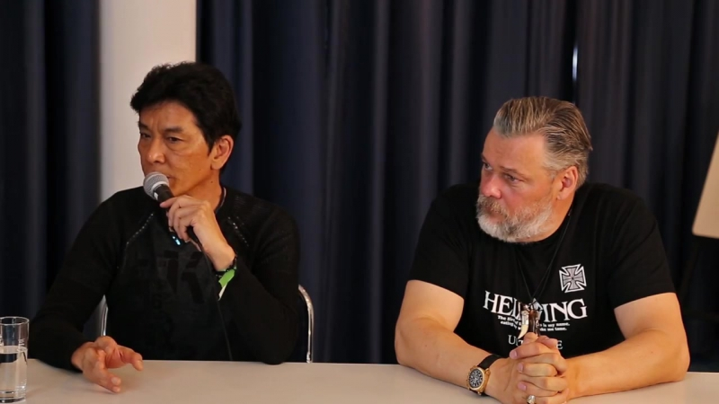 Jouji Nakata Torsten Münchow Interview Connichi 2015 german 日本語