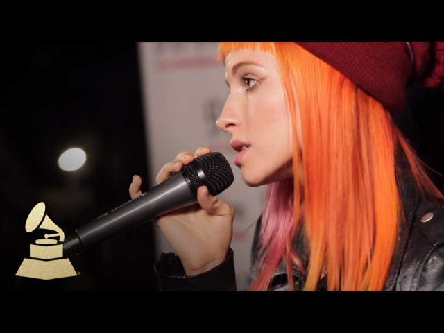 Live performance of Paramore's That's What You Get GRAMMYs