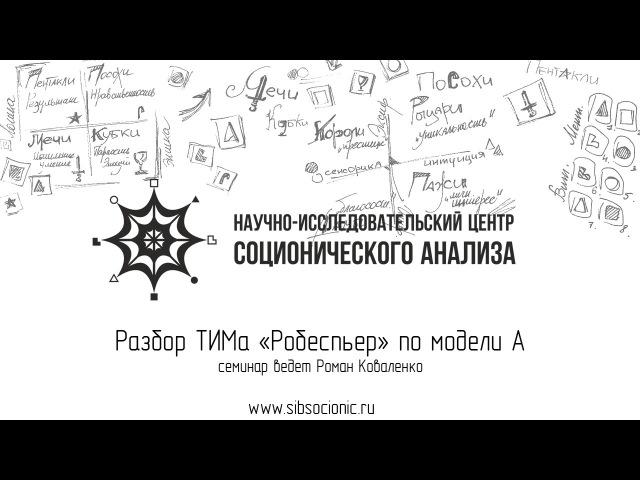 Робеспьер разбор ТИМа по модели А