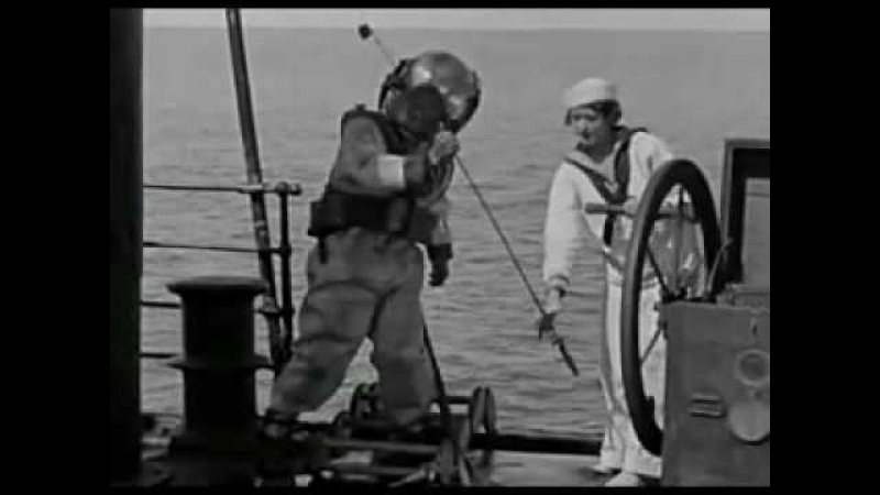 Buster Keaton Diver The Navigator