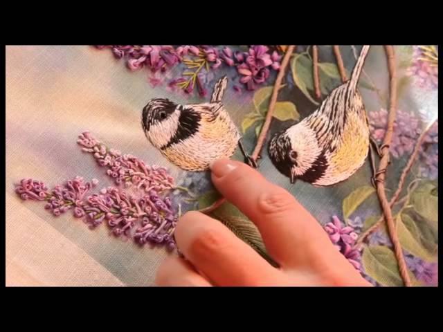 Утяжка Птичек Как создавать объёмные элементы