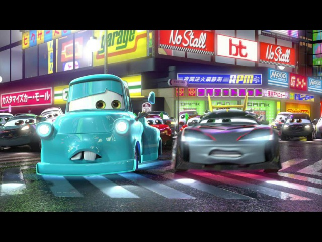 Мультачки   Байки Мэтра   Токио Мэтр - Сезон 2 серия 5   мультики Disney про машинки