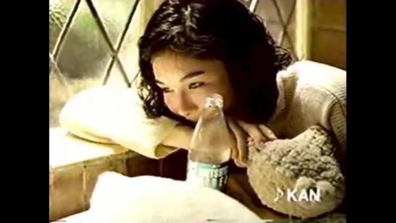 三ツ矢サイダー 30s 小島聖 1993年 ♪ KAN 「まゆみ」