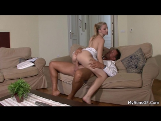 Abigaile johnson - family in debt, girlfriend pays with her body