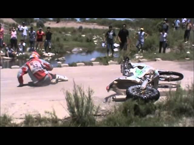 DAKAR 2013: caidas de motos