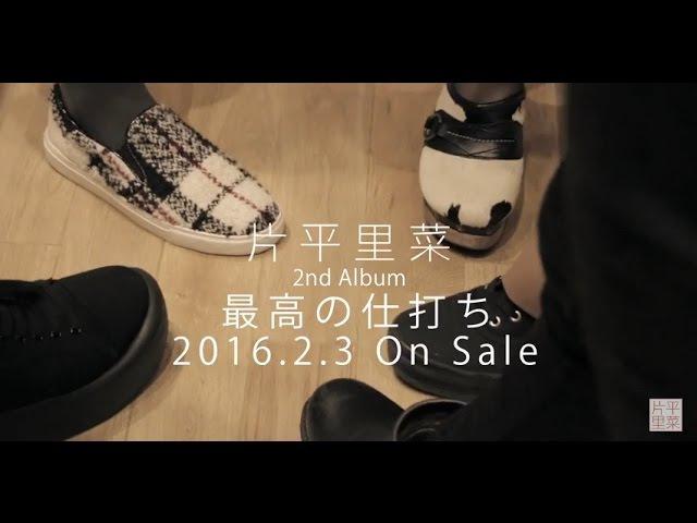 片平里菜 2nd Album「最高の仕打ち」Recording Document映像 vol 2