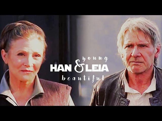 Han leia young beautiful