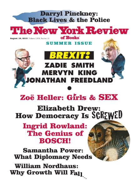 The New York Review of Books - 18 August 2016