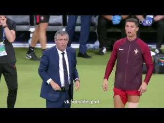 Криштиану Роналду - лучший ассистент тренера Евро 2016