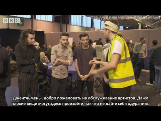 Greg james health  safety briefing at the bbc music awards [rus sub]