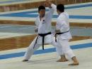 基本一本組手 演武 Kihon ippon kumite by Kurihara Chubachi JKA