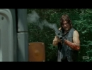 The Walking Dead 6x09 Daryl kills Negan's Men with Rocket Launcher