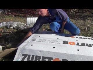 Укрытие винограда в Сибири