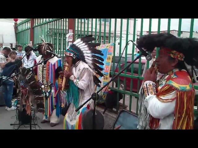 Перуанские индейцы на Кавказе