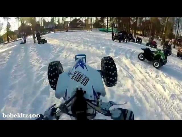 Winter atv crashes - quad fails - zima wypadki na quadach - compilation 2016