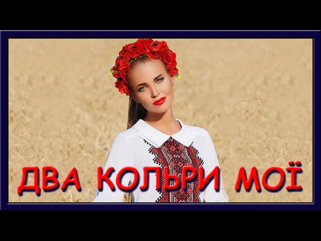 Українські пісні слухати. Два кольори мої два кольори