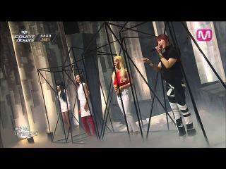  Выступление  2NE1 - IF I WERE YOU @M COUNTDOWN.