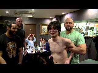 Prince Devitt (now Finn Balor) Documentary: The Chops Restaurant Scene