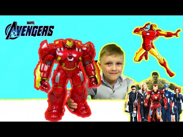 ХАЛКБАСТЕР .Железный человек против Халка. Avengers .Hulk vs the Hulkbuster
