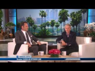 The Ellen Show Full Episode Season 12  (720)  Vince Vaughn, Megan Boone