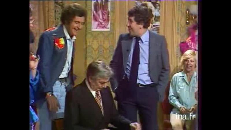 Collaro SHOW Joe Dassin 1979 все икают