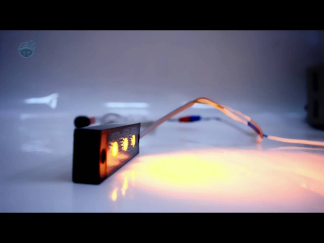Оранжевые фары-вспышки Махаон-3ПМ - Элина