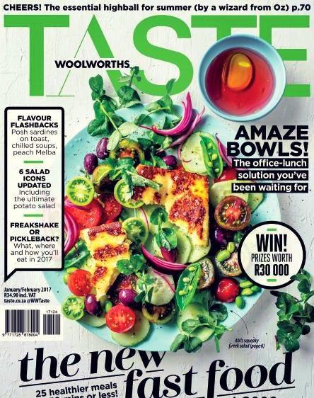 Woolworths Taste-January-February 2017
