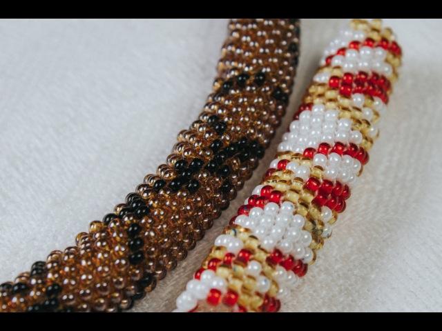 Мозаичное плетение Жгуты по схемам