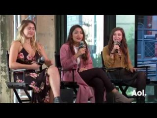 Lia Marie Johnson, Lulu Antariksa, and Katelyn Nacon On  | BUILD Series