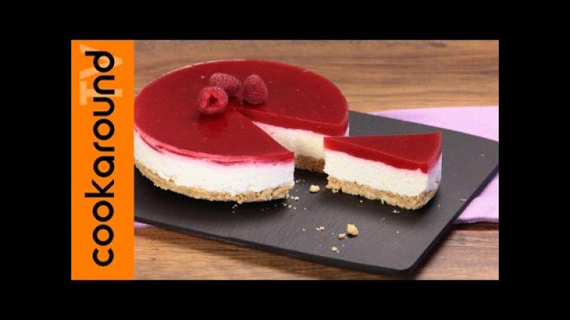 Cheesecake ai frutti di bosco, fredda, senza cottura, semplice e veloce