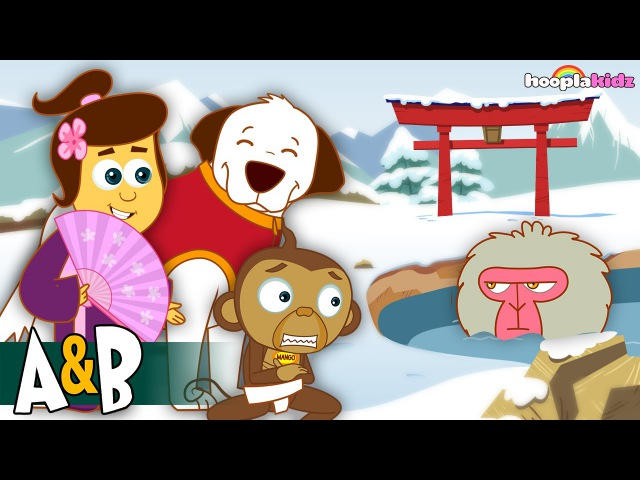 The Adventures of Annie and Ben JAPAN by HooplaKidz in 4K EP 13