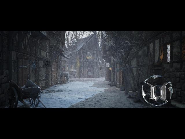 Speed Level Design Medieval Village Scene Unreal Engine 4
